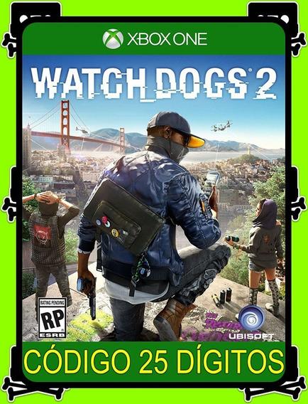Watch Dogs 2 Xbox One - 100% Original (25 Dígitos)