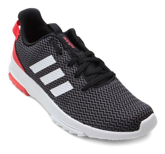 Tênis adidas Cf Racer Tr - Masculino - Preto/vermelho