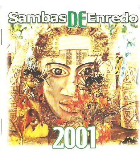 Cd Sambas De Enredo - 2001 - Novo***