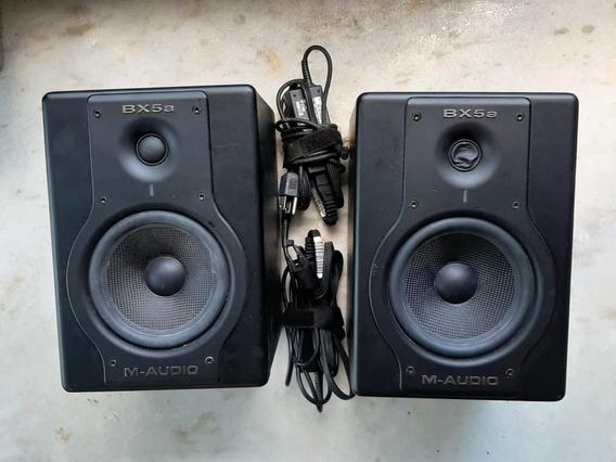 M-audio Stdiophile Monitor De Referência M Audio Bx5a