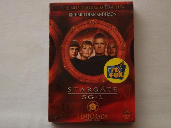 Box Dvd Stargate Sg.1 - 4ª Temporada - Original - Lacrado
