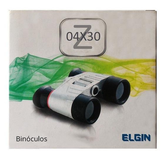 Binóculos Elgin Z-04x30 Angulo 10,5 - Zoom 4x - 46rbinz0430f