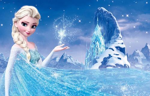 Frozen Princesa Elsa - Posters Adhesivos Gigantes