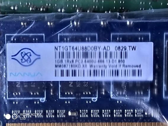 Memoria Ram 1gb Pc2 6400 Hewlett Packard -nanya