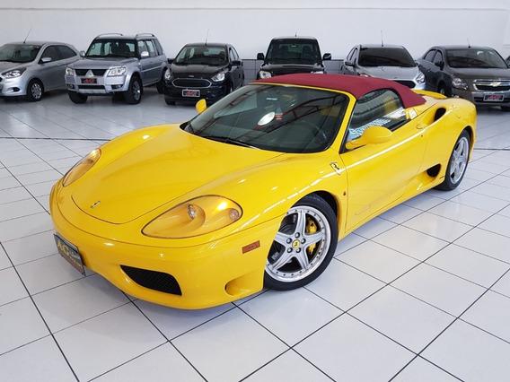 Ferrari F360 F1 Modena 2004 Conversivel Top 17.000 Kms