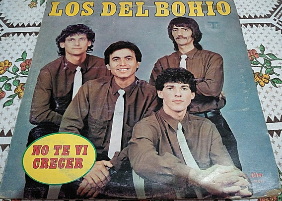 Los Del Bohio - No Te Vi Crecer / Vinilo Lp.