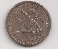 Portugal Moneda De 2 1/2 Escudos Año 1975