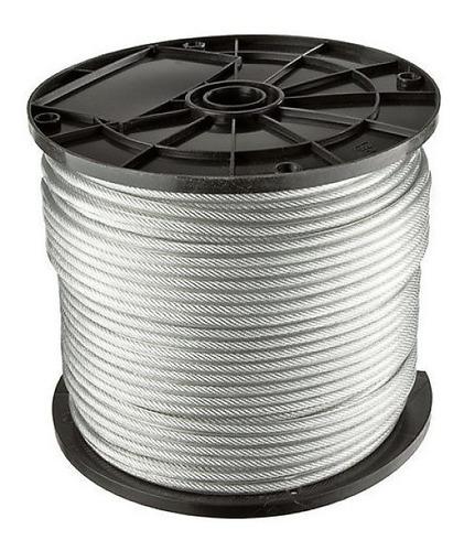 Cable De Acero 6x7 5mm Rollo X 100m Finisterre Sin Interes