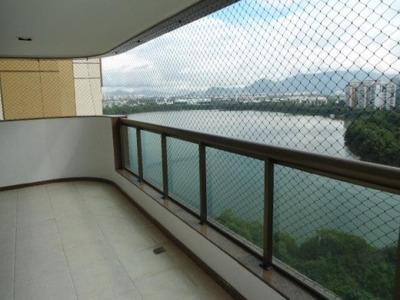 Aluguel Apartamento Alto Padrão Rio De Janeiro Brasil - 1290-a