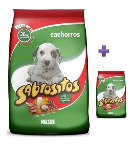 Imagen 1 de 2 de Sabrositos Cachorros 8kg Mas 1kg De Regalo