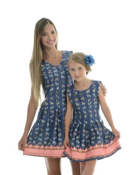 Conjunto Mãe E Filha Carrossel P-4 Anos