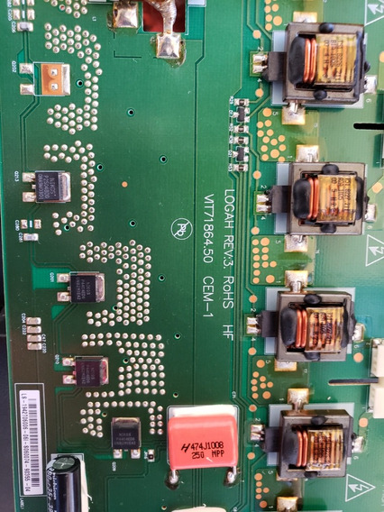 Placa Inverter Vit71864. 50 Cem-1 Hbuster Hbtv-42d03fd