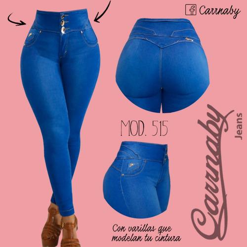 Pantalon Mezclilla Dama Corte Colombiano Carrnaby Talla 11 Mercado Libre
