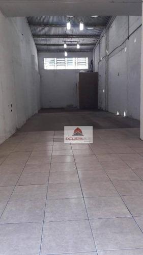 Ponto Para Alugar, 90 M² Por R$ 3.800,00/mês - Centro - São José Dos Campos/sp - Pt0047