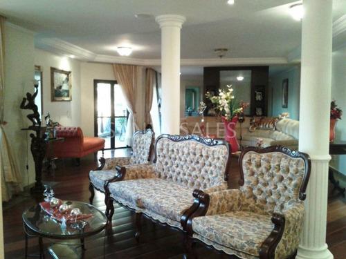 Imagem 1 de 15 de Belíssimo Apartamento Mobiliado Para Locação - 4 Dormitórios - Saúde - Ss49351