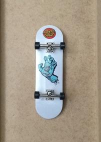 Fingerboard Santa Cruz Profissional Maple Rolamento + Brinde