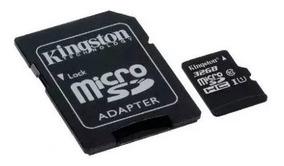 Cartão De Memória 32gb Classe 10 Kingston Micro Sd Nfe