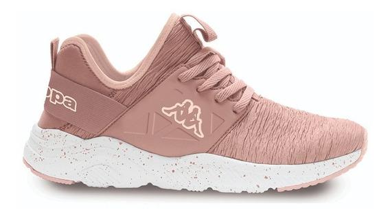 Zapatillas Kappa Mujer San Antonio Crumple Pink Light