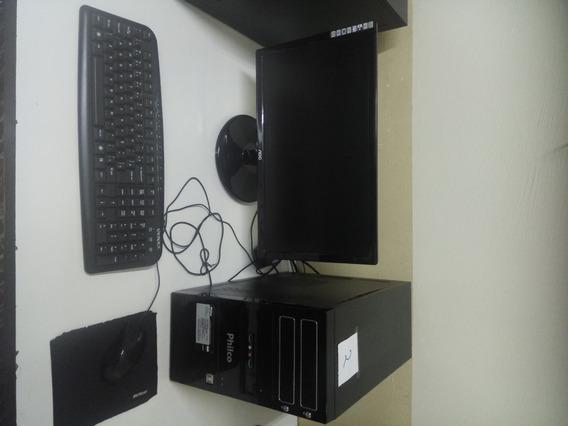 Cpu Completa Amd A8 5gb + Monitor + Teclado E Mouse