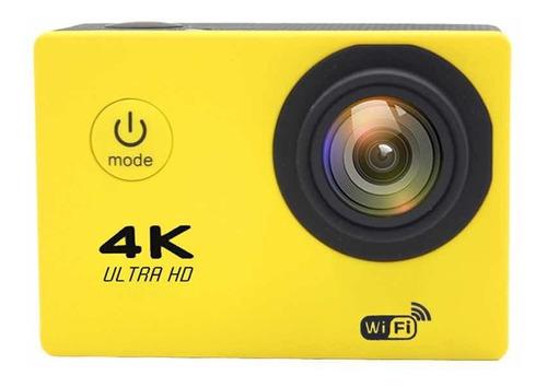 Câmera Filmadora Sport 4k Ultra Hd Estilo Gopro 16mp 30m