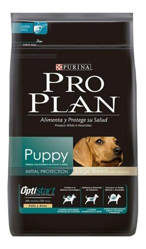 Imagen 1 de 2 de Alimento Pro Plan OptiStart Puppy para perro cachorro de raza grande sabor pollo/arroz en bolsa de 3kg