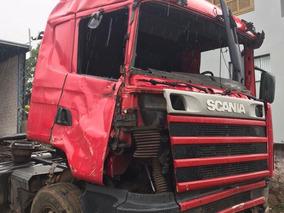 Sucata Scania R 124 400 2005/2005 Vermelho