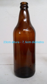 Garrafa Cerveja Artesanal. 600ml. A Mais Barata Do M.l.