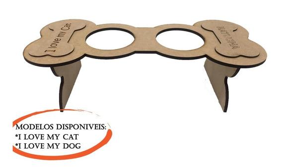 Comedouro E Bebedouro Suspenso Para Cães 1002