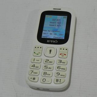Celular Ipro I3100 Dual Sim Rádio Fm Lanterna Branco - Usado