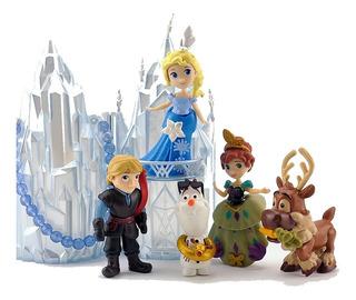 Frozen Coleccion Juguetes Castillo Nieve Olaf Ana Elsa Etc