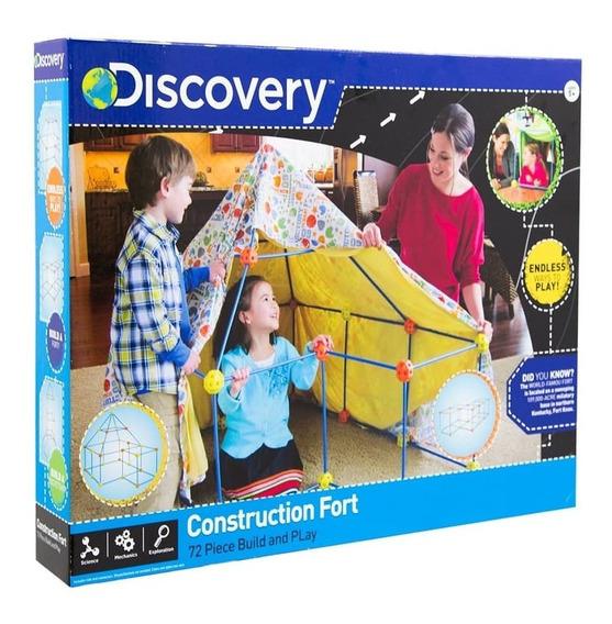 Fortaleza Para Construir Discovery Kids Castillos Figuras