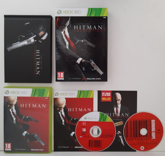 Hitman Absolution Professional Edition Xbox 360 Completo.