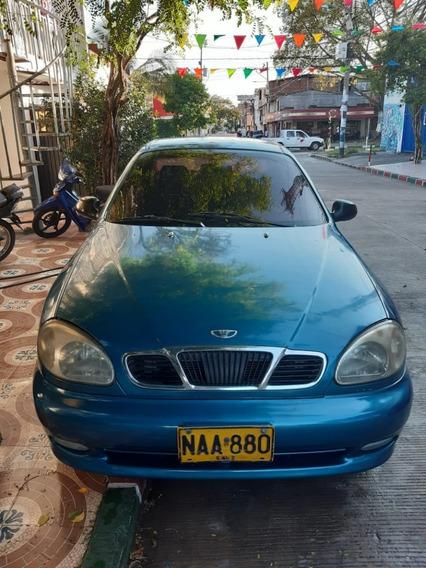 Daewoo Lanos Automóvil Buen Estado Lámina Y Motor Standar R
