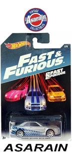 Nissan Skyline Velozes Furiosos Fast Furious Hot Wheels 1/64