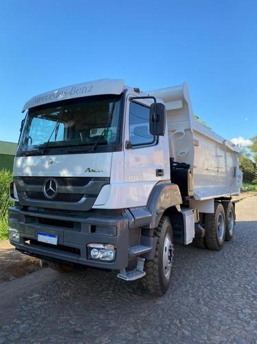 Imagem 1 de 15 de Mercedes-benz Axor 4144 6x4 Caçamba Basculante Traçado
