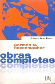 Obras Completas - Rozenmacher, German