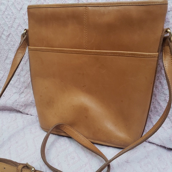 Cartera Crossbody Cuero Coach Original