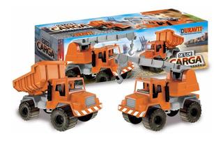 Camiones Guinche + Volcador Set De Carga Duravit