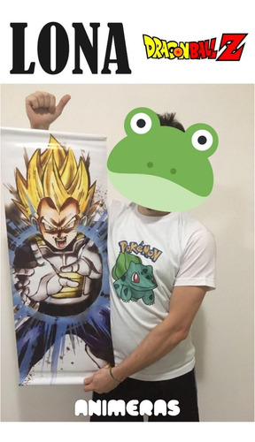 Lona De Vegeta Dragon Ball Para Colgar - Animeras