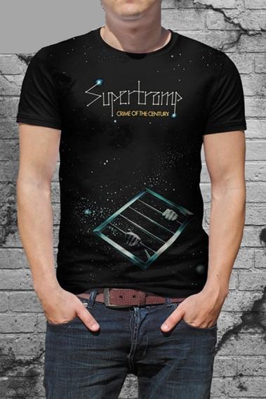 Camiseta Supertramp - Crime Of The Century