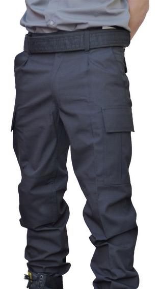 Pantalón Táctico Ripstop Antidesgarro Azul O Negro