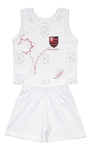 Pijama Bebê Flamengo
