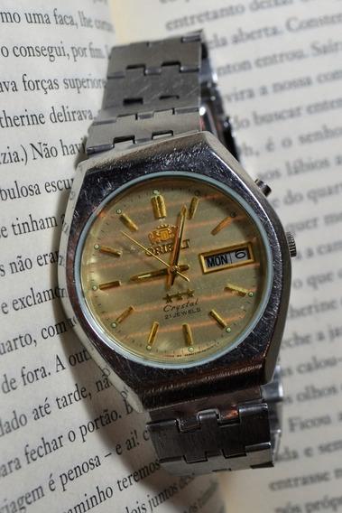 Relógio Masculino Orient Crystal Ke 469lr2 - 7a Ca