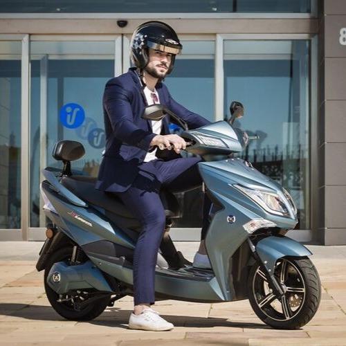 Moto Electrica Hawk S/ Registro Eco Alsina / Hot Sale