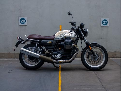 Imagen 1 de 15 de Moto Guzzi V7 Iii Aniversario Usada