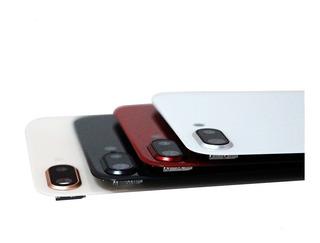 Tampa Traseira iPhone 8 Plus Com Lente E Aro Da Câmera