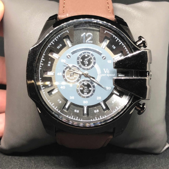 Relógio Masculino V6 Original Novo Modelo Oriente