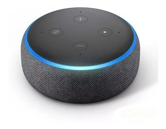 Echo Dot Amazon - Smart Speaker Com Alexa 3° Geração