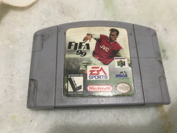 Cartucho Fifa 99 Nintendo 64 Americano