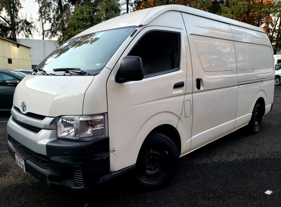 Toyota Hiace 2.7 Panel Super Larga Mt 2018 *financiamiento*